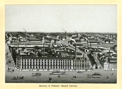 Huntley and Palmers, Reading