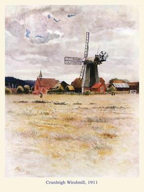 Cranleigh Windmill, 1911