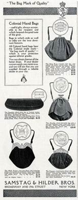 Colonial Hand Bags, 1916