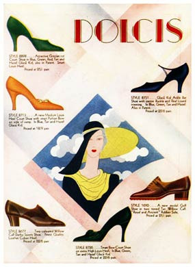 Dolcis Shoes, 1931