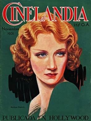 Cinelandia, Nov 1931, Marlene Dietrich