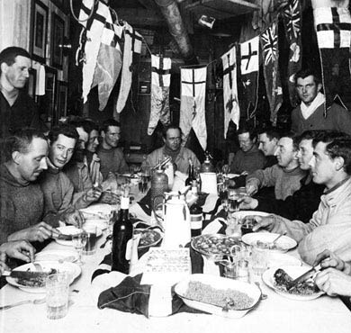 Captain Scott, Birthday Meal