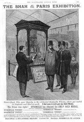 Bushmills Paris Exhibition 1889