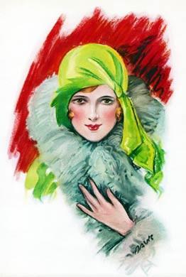 Face of a Flapper, 1930