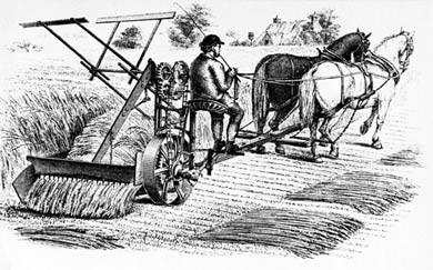 Cyrus McCormick Reaper, 1840