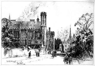 Lincoln's Inn Hall, 1892