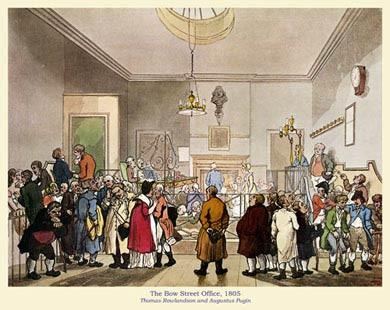 Bow Street Office, 1805