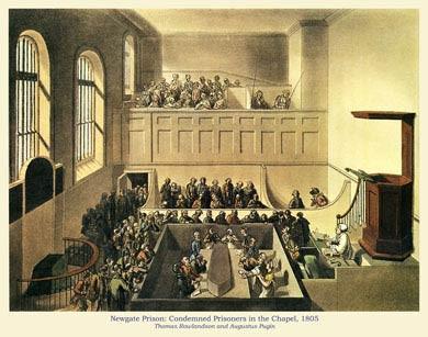 Newgate Prison, 1805