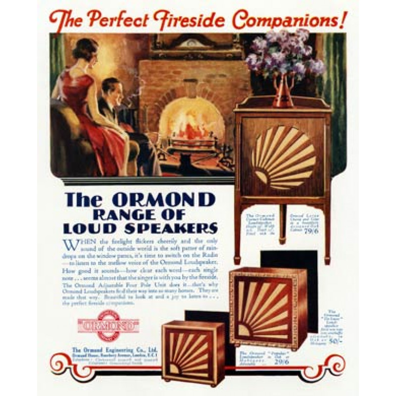 Ormond Loudspeakers