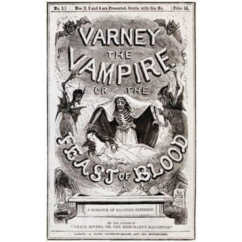 Varney the Vampire, 1847
