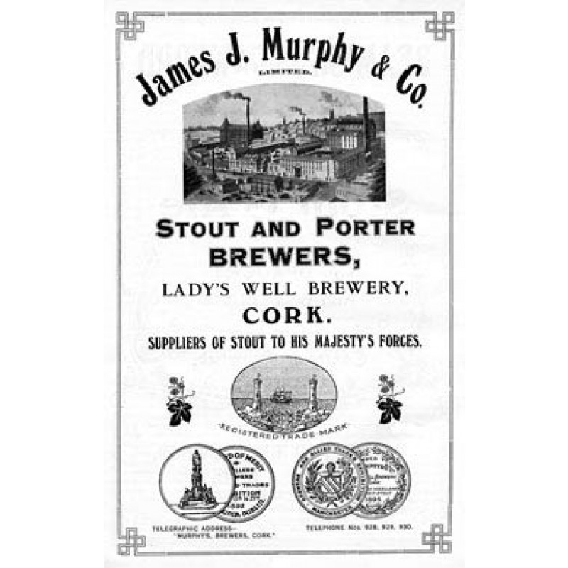 Murphy's Stout, 1919