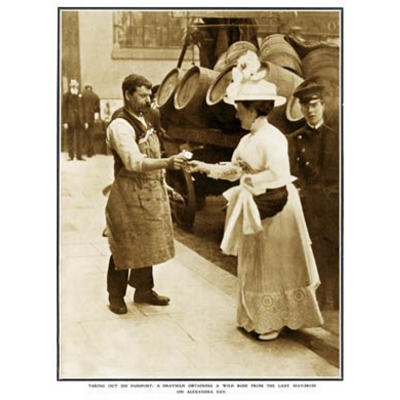 The Drayman And The Mayoress