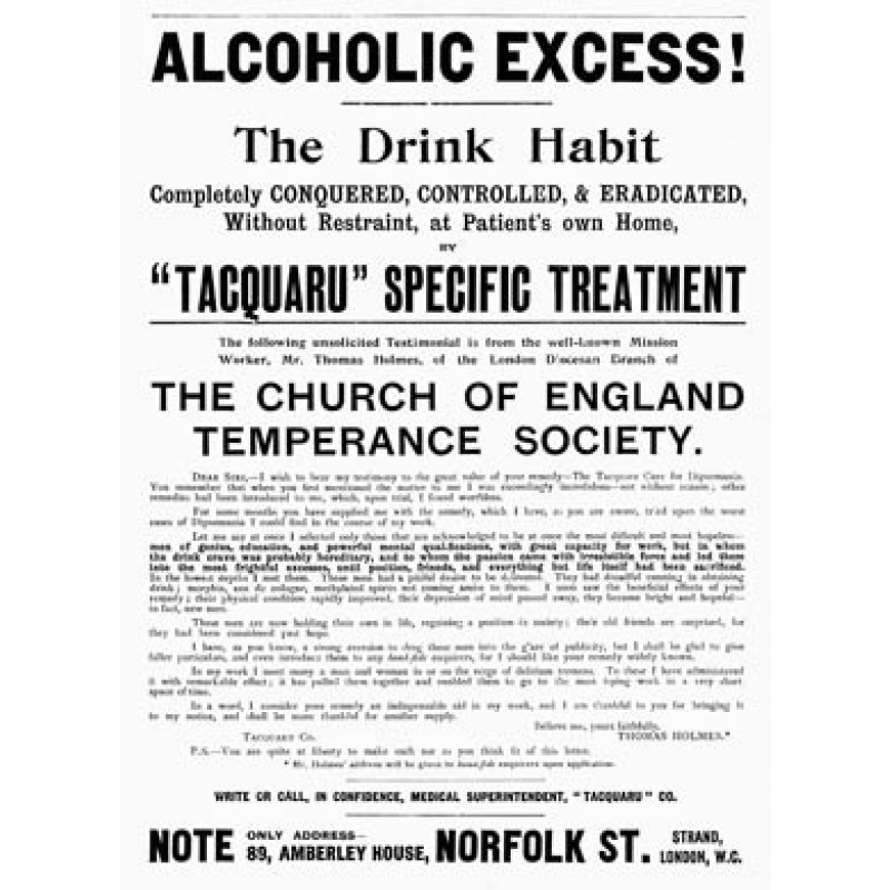Alcoholic Excess Cured