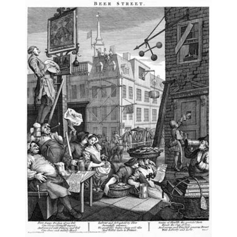 Beer Street, William Hogarth