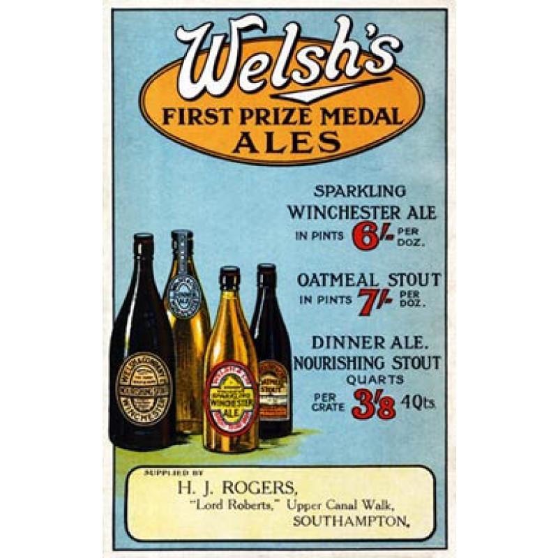 Welshs Prize Winning Ales