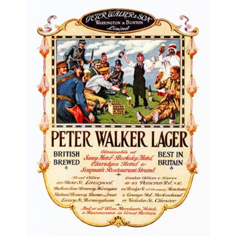 DRBE1088, Peter Walker Lager, 1919