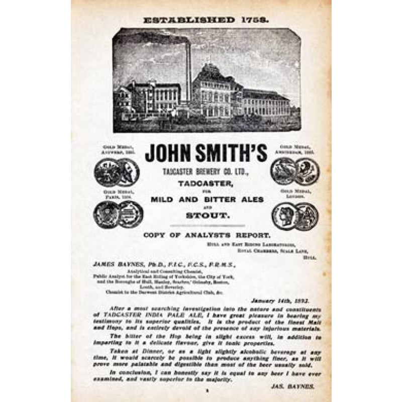 John Smiths, Tadcaster Brewery