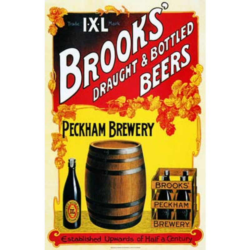 Brooks Peckham Brewery, 1905