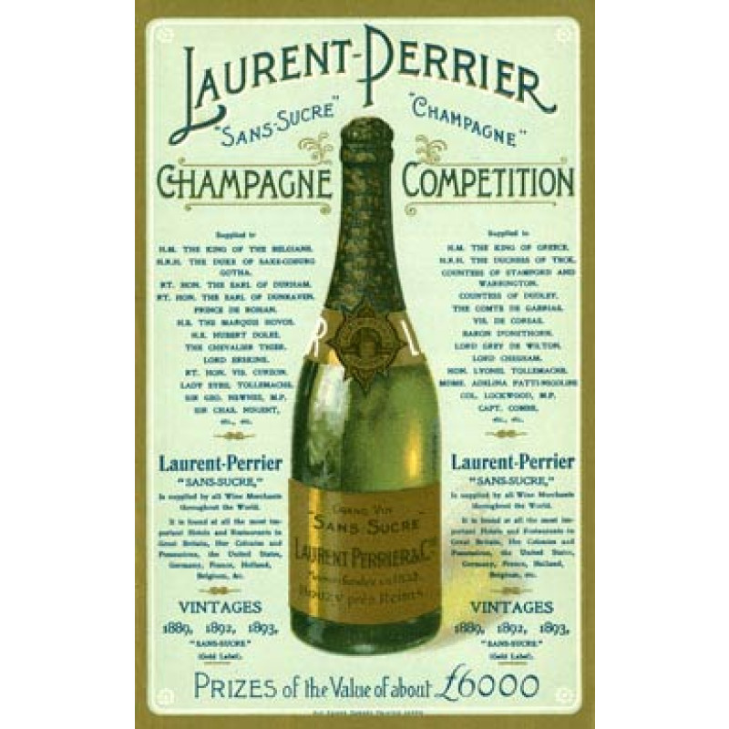 Laurent Perrier Champagne, 1900