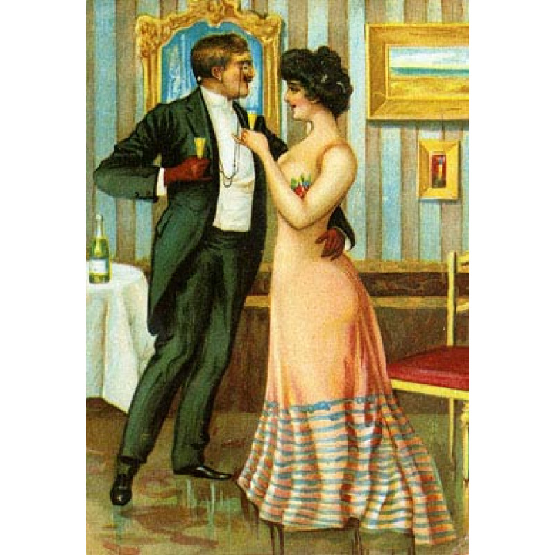 Champagne Seduction, 1900