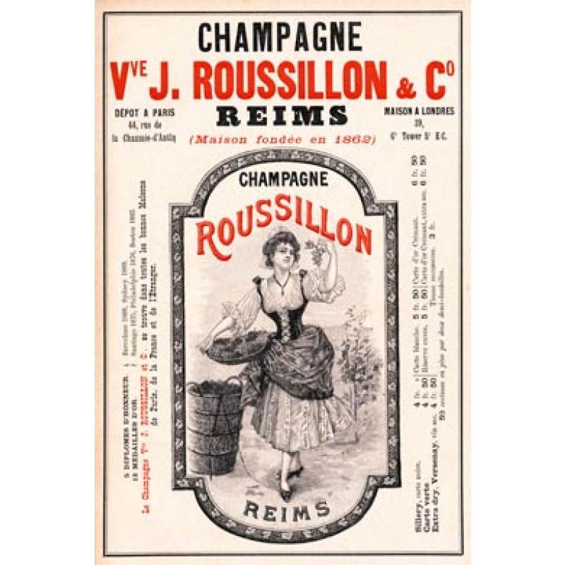 Champagne Roussillon, 1901