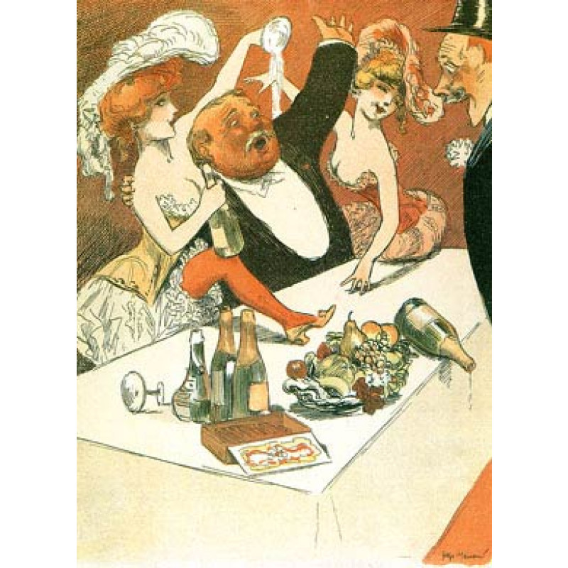 Champagne Orgy, 1904