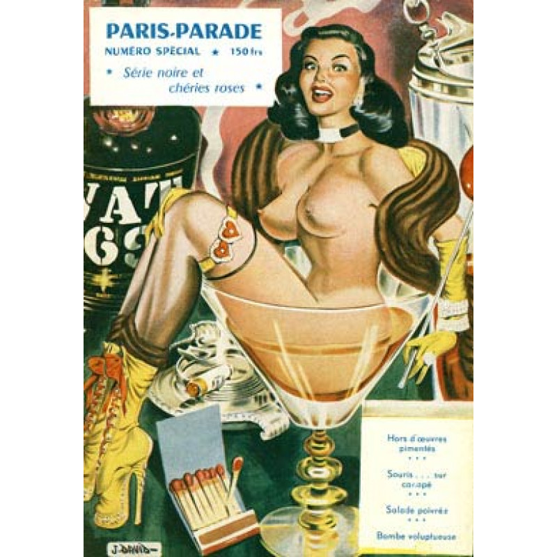 Paris Parade Cocktail, 1952