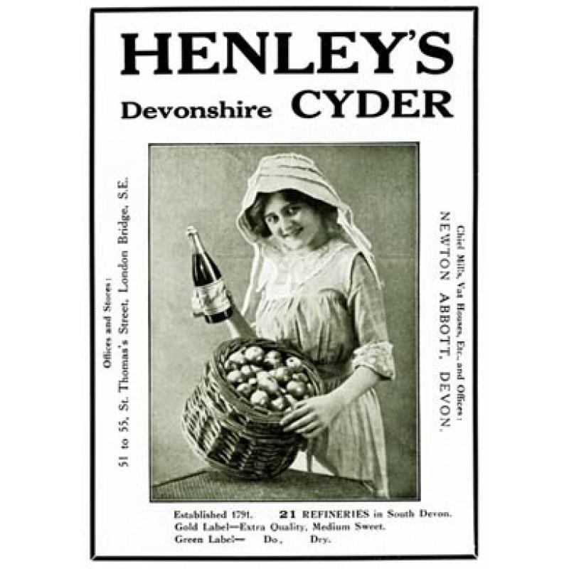 Henleys Devonshire Cyder