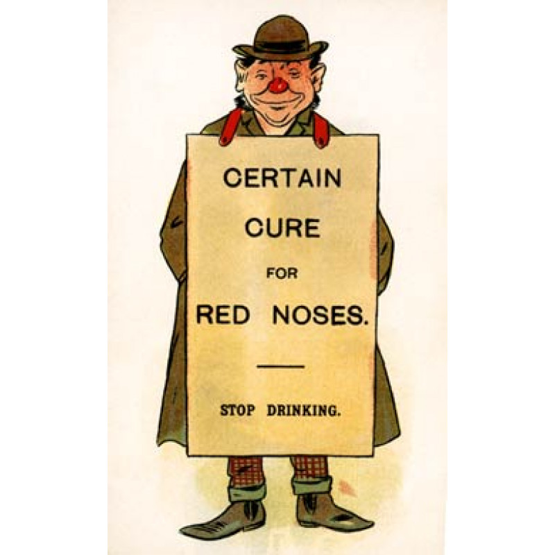 Certain Cure For Red Noses