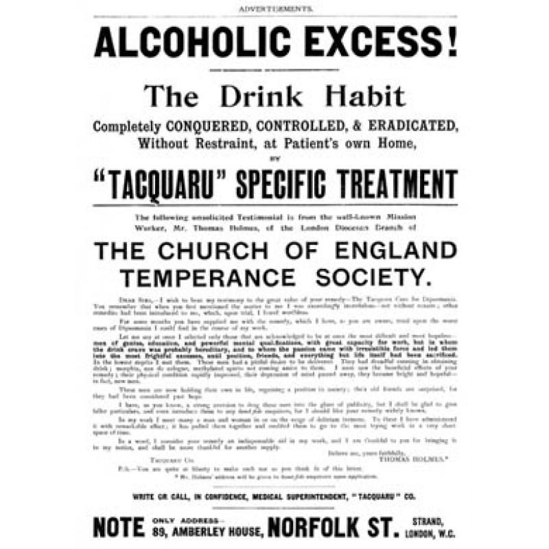 Tacquaru Treatment, 1901