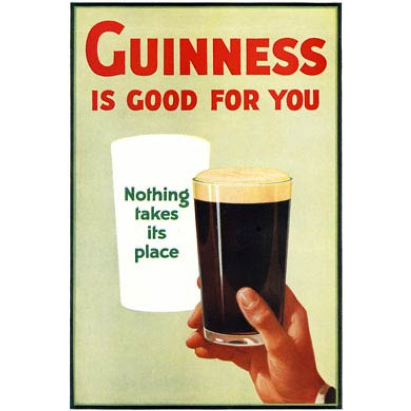 Guinness, Is Good For You