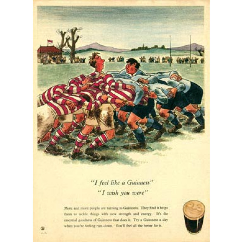 Guinness, Rugby, 1951