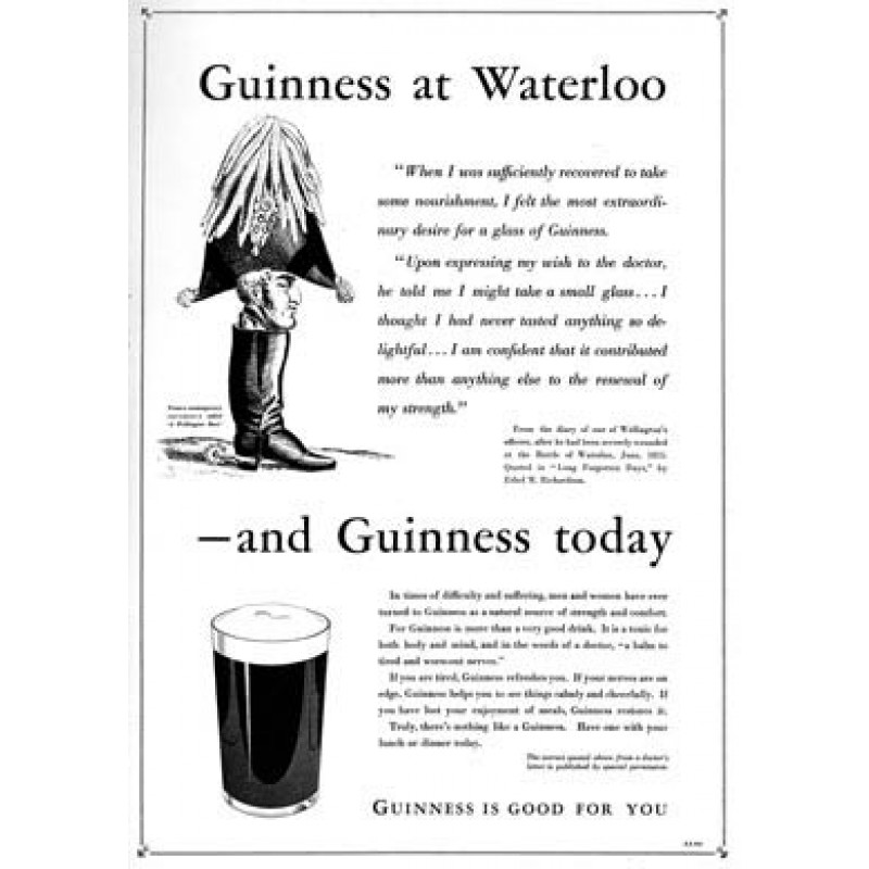 Guinness, Waterloo, 1939