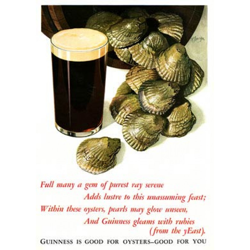 Guinness, Oysters, 1935