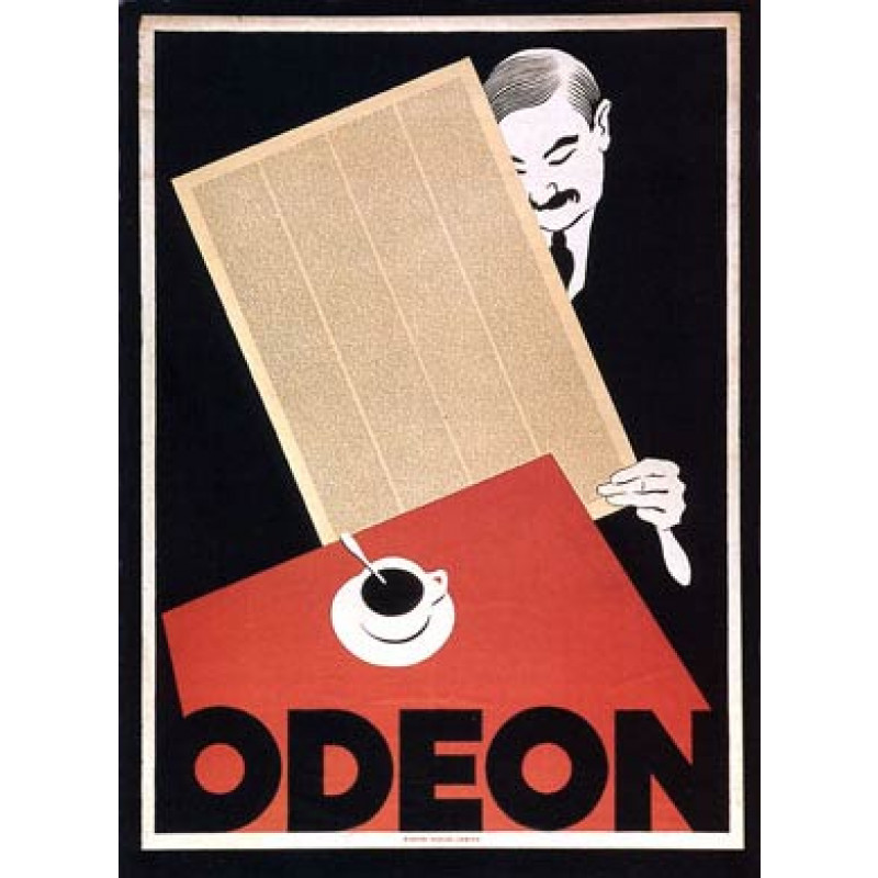 Cafe Odeon, Zurich, 1920