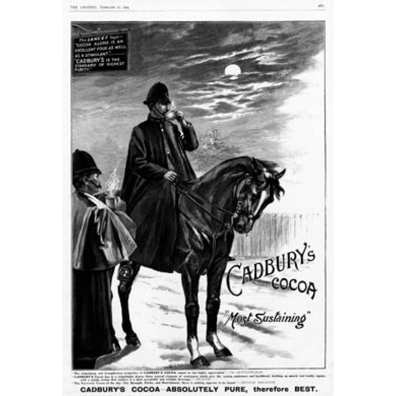 Cadburys Police Horse