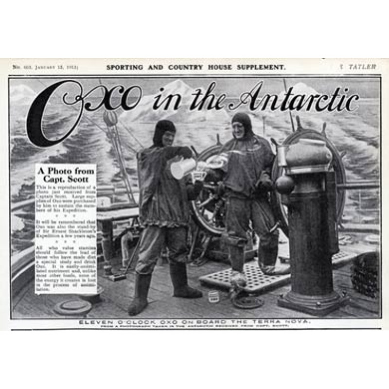Captain Scott, Oxo Ad