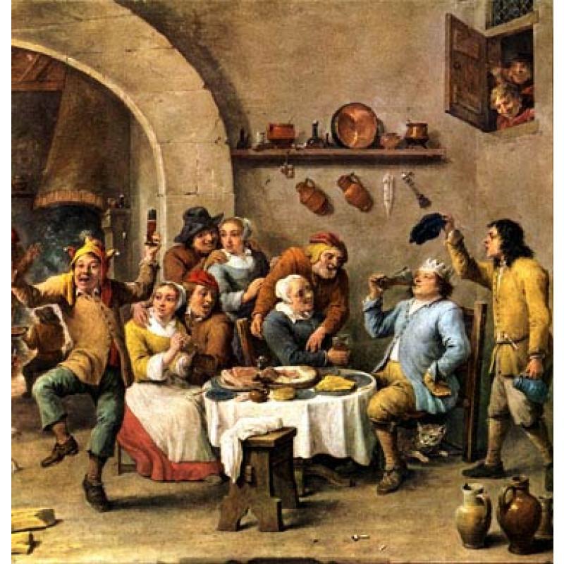 Teniers, The King Drinks