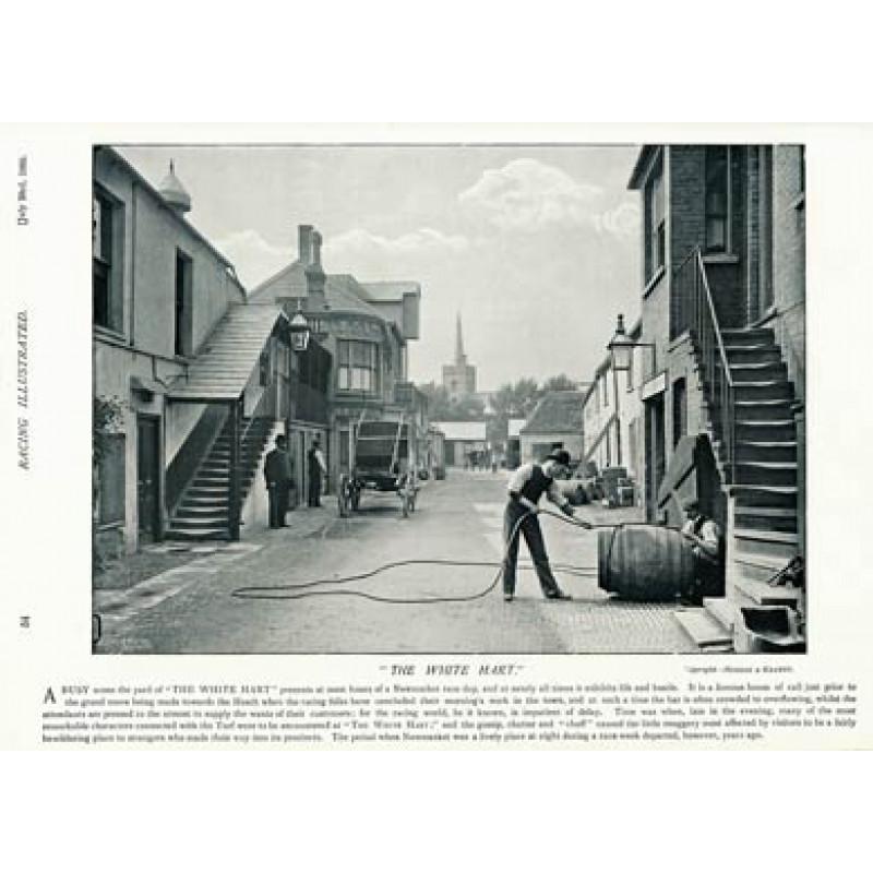 White Hart, Newmarket, 1895