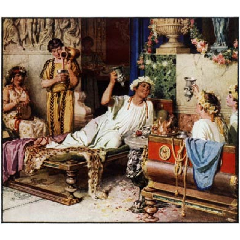 Roman Wine Drinking