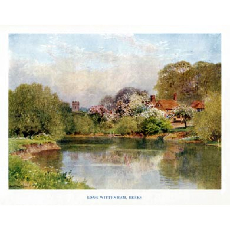 Long Wittenham, Berkshire, 1920