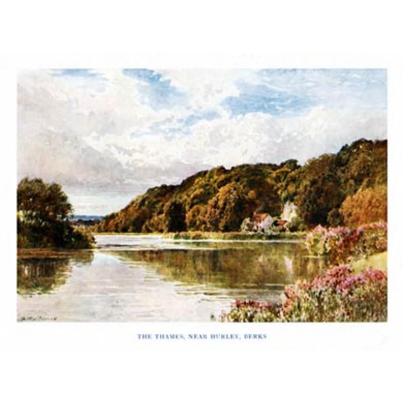 River Thames, near Hurley, Berkshire, 1920