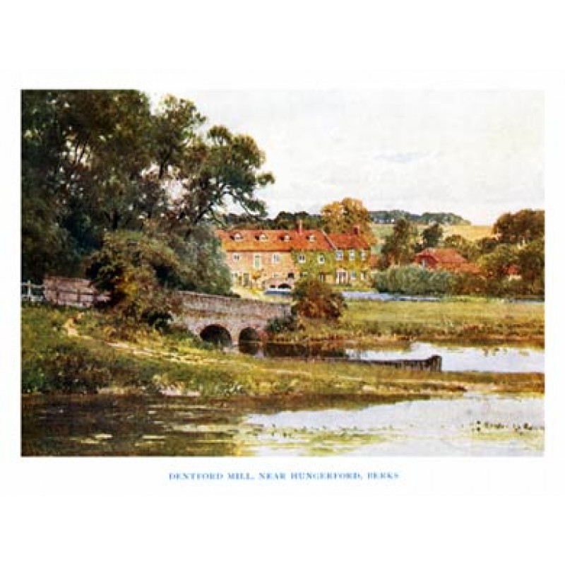 Dentford Mill, Hungerford, Berks