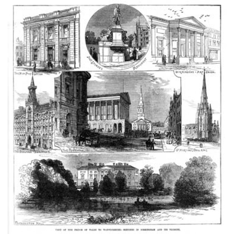 Birmingham and Vicinity, 1874