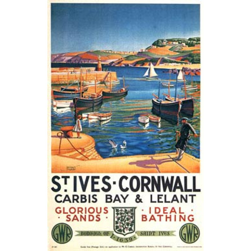 St Ives Railway Poster