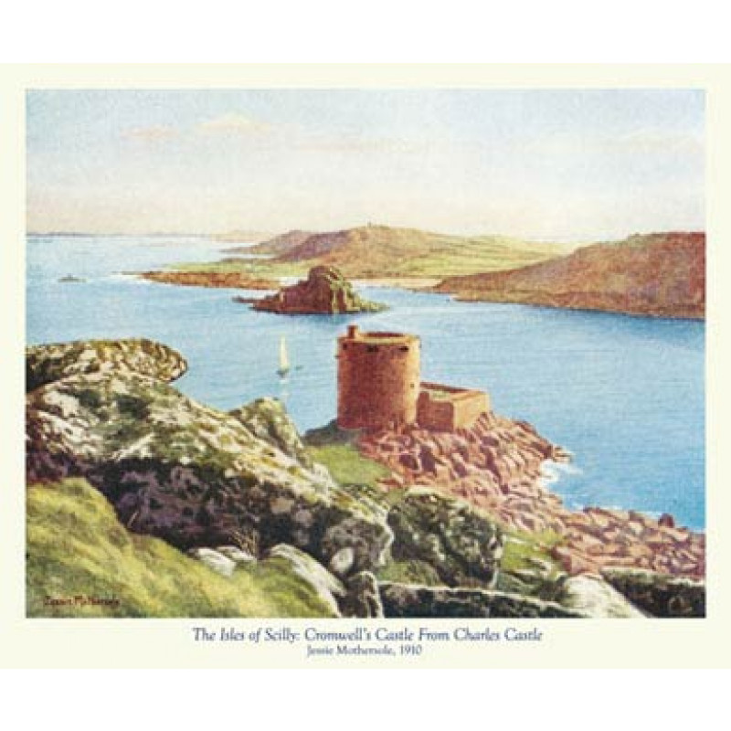 Scilly, Cromwells Castle from Charles Castle