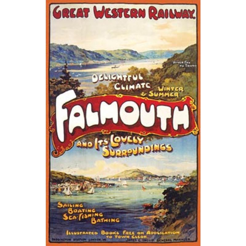 Falmouth Poster