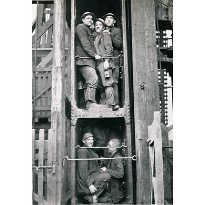 Cornish Miners at South Crofty