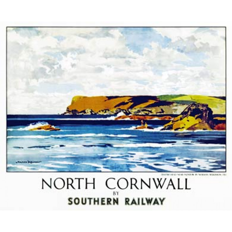 North Cornwall Poster