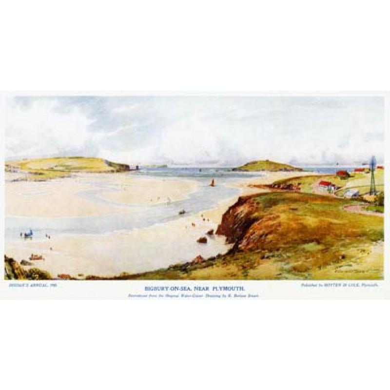 Bigbury & Burgh Island 1910